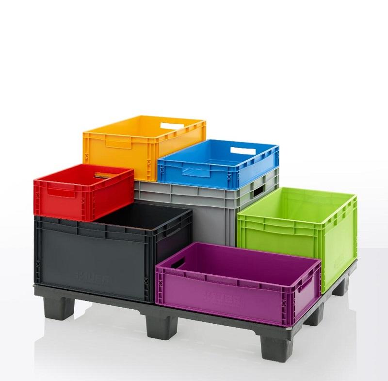 Big box, boites plastiques empilables, bacs de rangement