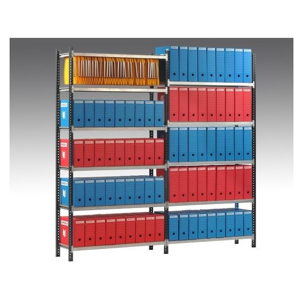 Rayonnages d'archives, trieurs, modules de classement